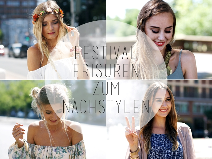 4 einfache Festival Frisuren | HYPNOTIZED Blog