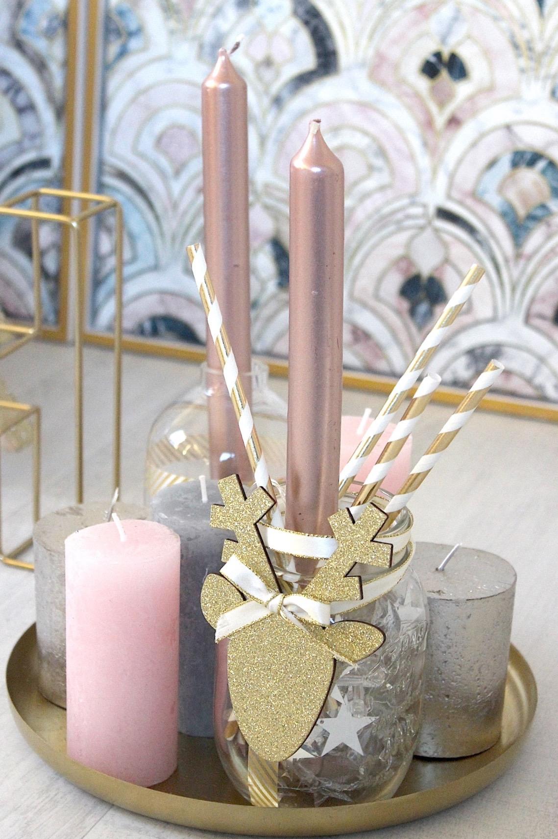Skandinavischer Wohnstil Dekoration : Interior diy weihnachtliche deko